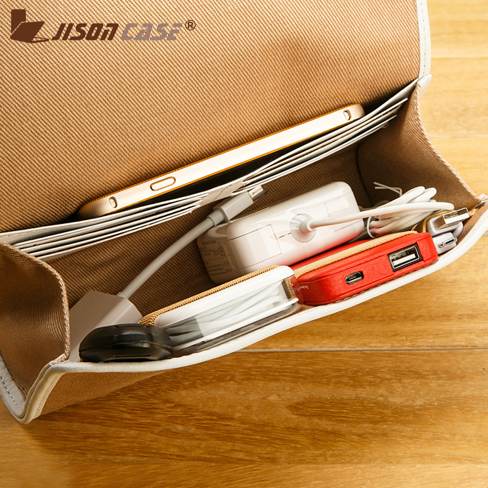 Jisoncase Digital Products Bag Power Bank Bag Organizer Phone Bag Mouse Cable Flash Disk Organizer