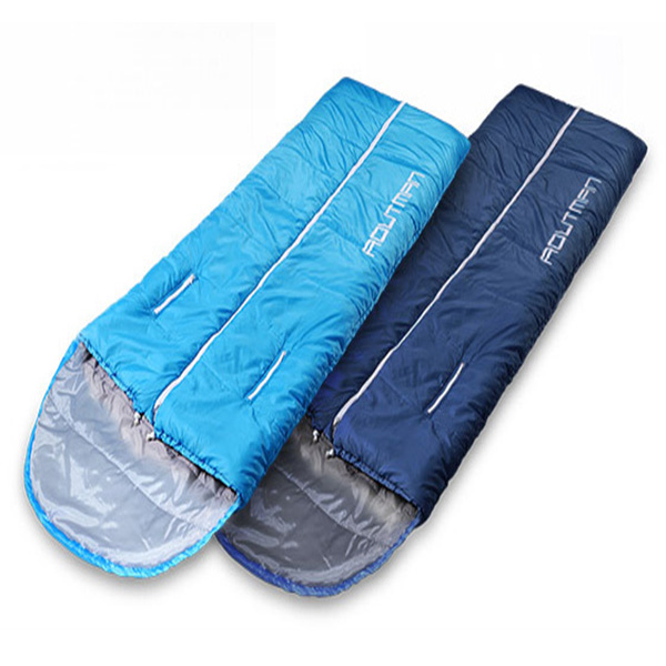 Outdoor Adult Sleeping Bag Camping Warm Cotton Noon Bre