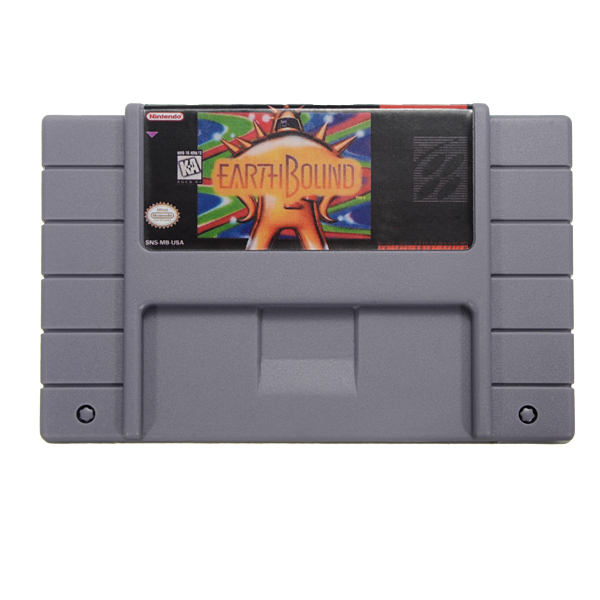 Earthbound Game Cartridge for RPG SFC SNES US Version E
