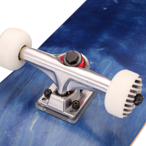 9 Ply Maple Four Wheel Skateboard Double Warped Professional Road Longboard