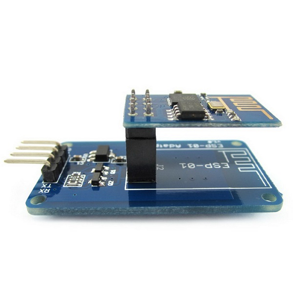 Geekcreit® ESP8266 ESP-01 Serial Port WIFI Transceiver Wireless Module + Adapter Module For Arduino