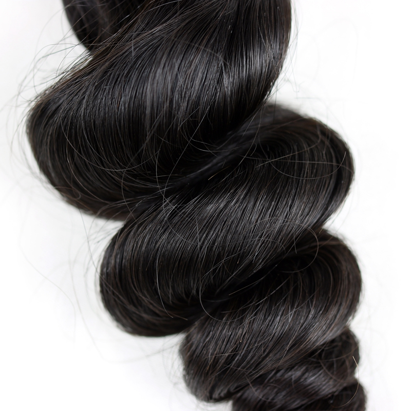 6A Grade Brazilian Virgin Unprocessed Loose Wave 100% Real Human Hair Extension