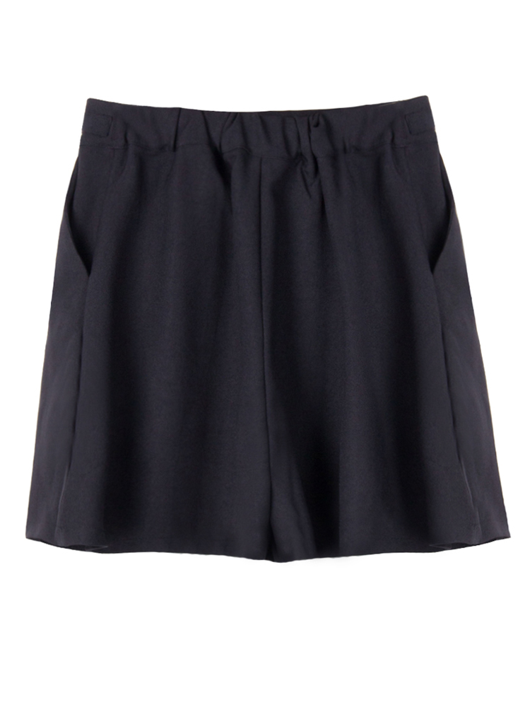 Casual Bow Women Wide Leg Short Skirts Pants