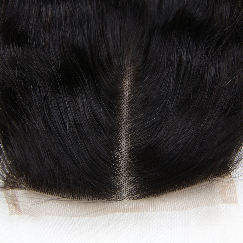 7A 4X4 Loose Wavy Virgin Hair Lace Closure Chinese Human Hair Closures Free Middle Part