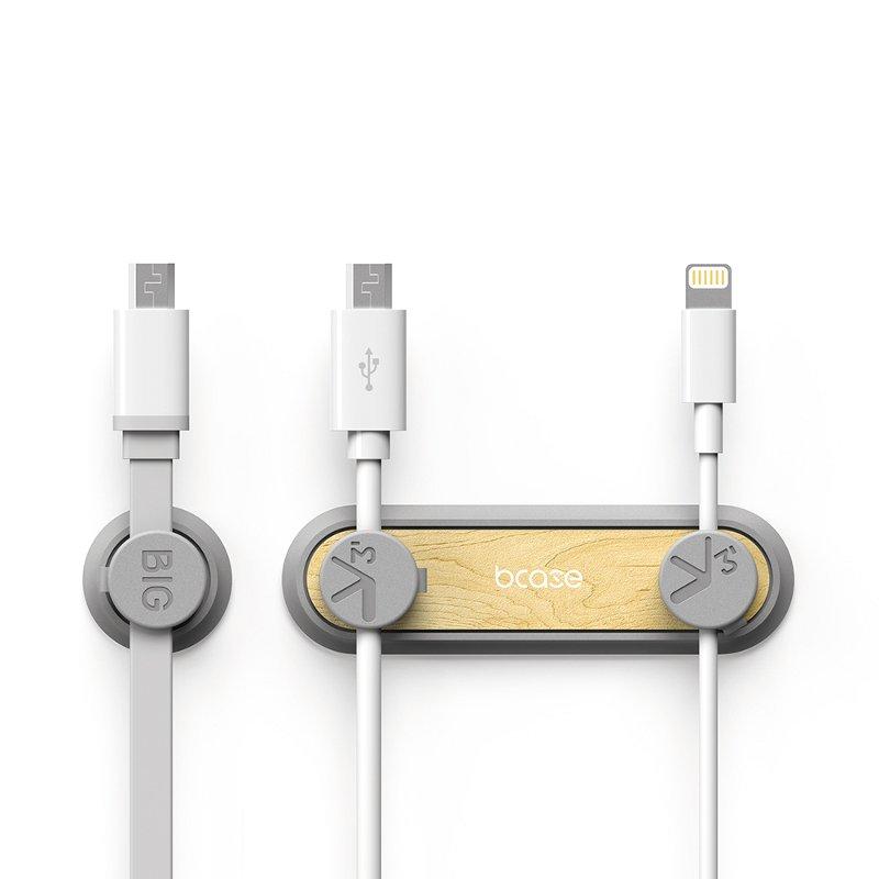 Bcase tup2 деревянные магнитные зажимы для кабеля управления настольными кабель многоцелевой USB-кабель организатор