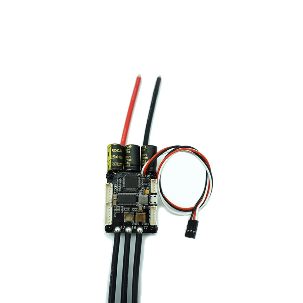 HGLRC-Flipsky Mini FSESC4.20 50A ESC Based Upon VESC With Aluminum Anodized Heat Sink for Rc Car - Photo: 10