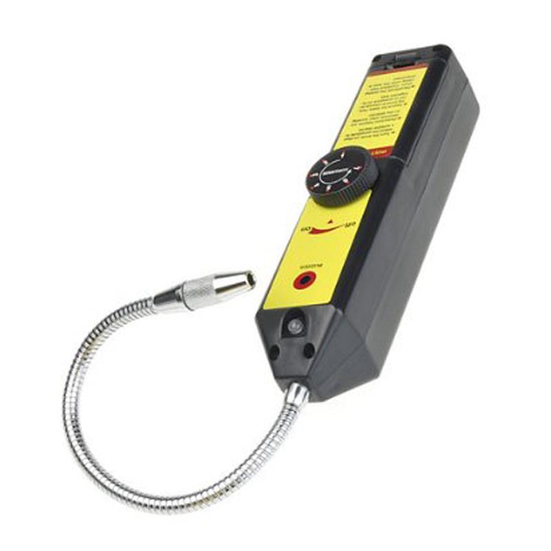 WJL-6000 MYLB Refrigerant Halogen Freon Leak Detector A/C R134 R410a R22 Air Gas HVAC Tool Black Gas Leak Detector