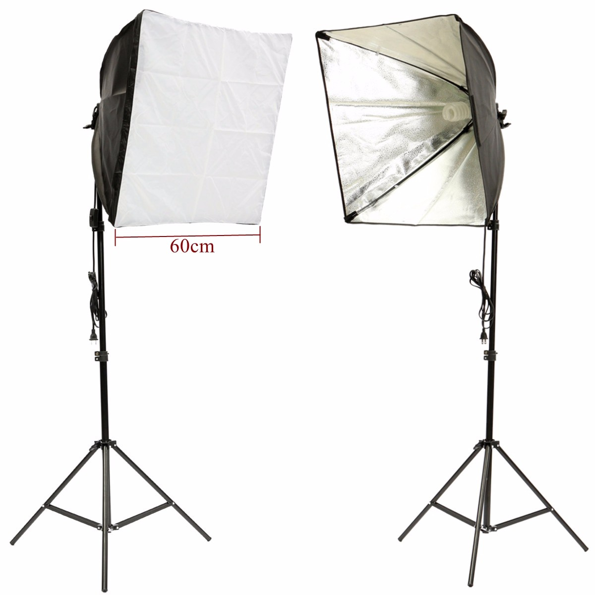 Softbox Light Kit Photo Studio Video Stand Photography Continuous Lighting Kit