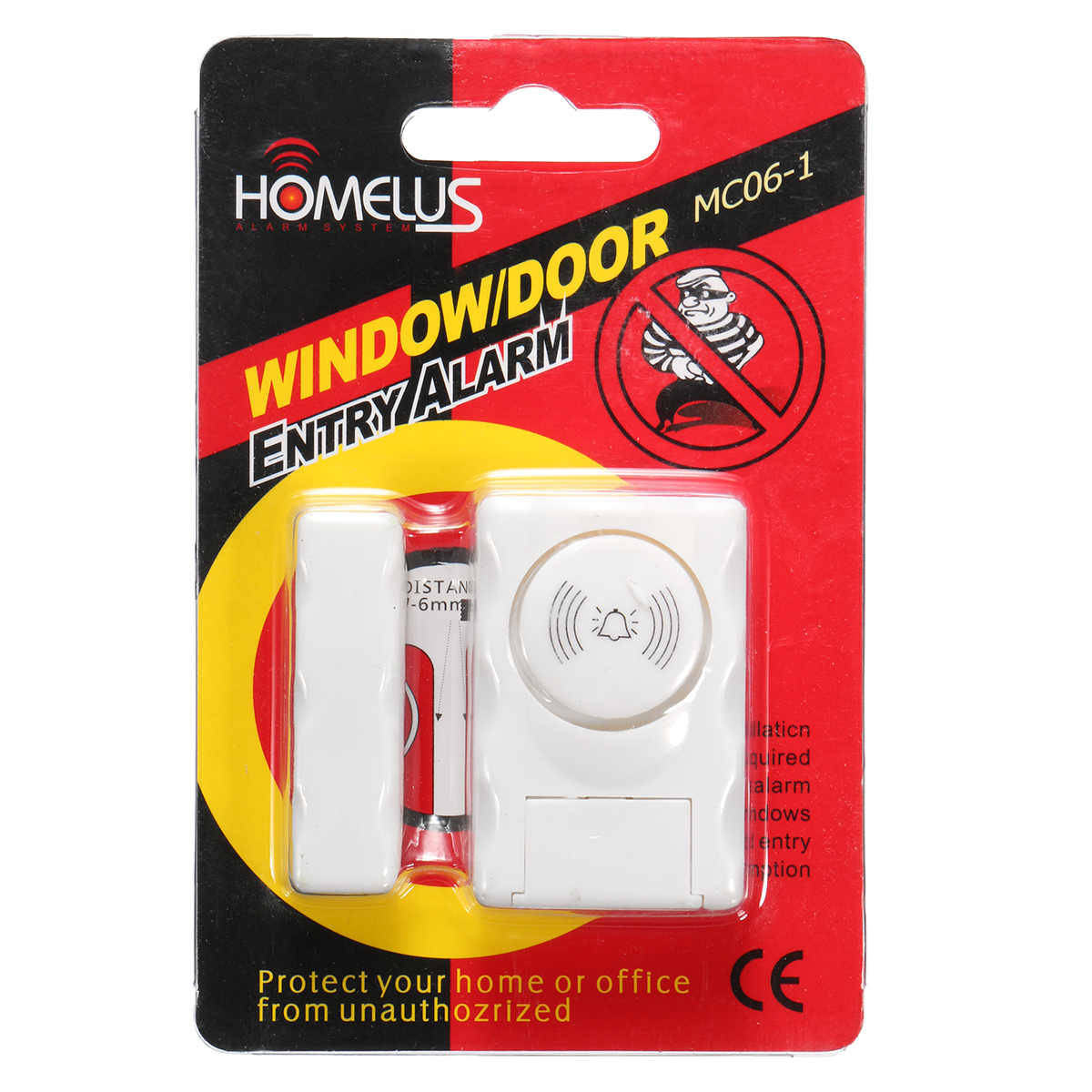 Wireless Home Company Warehouse Entry Magnetic Security Alarm System