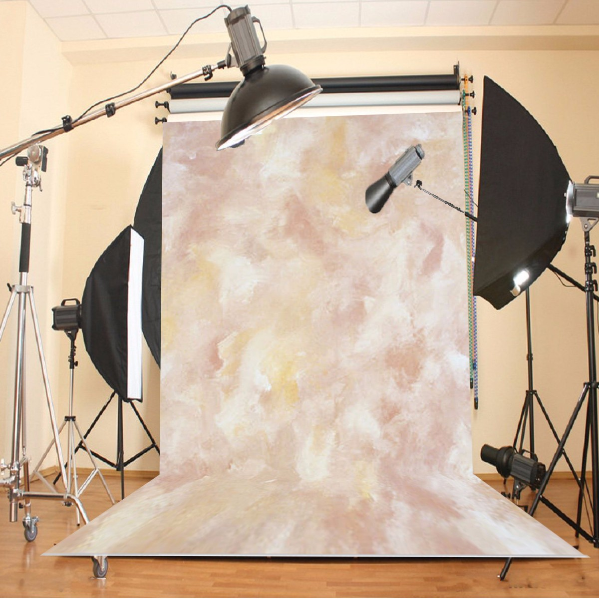 1.5x2.1m Photography Abstract Fabric Background Fabric Flat Studio Backdrop