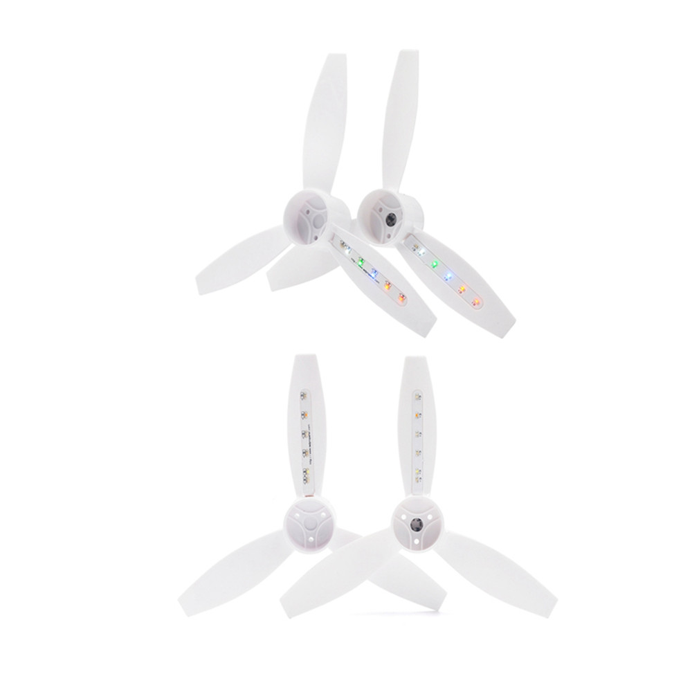 2PCS LED Flash Propeller for Parrot Bebop 2 RC Drone Quadcopter Parts