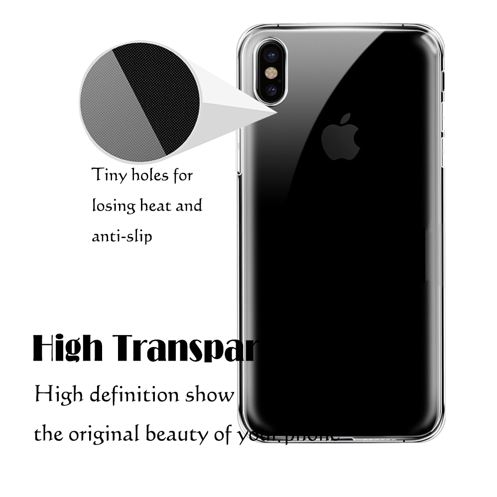 Bakeey™ 4D Curved Edge Tempered Glass Film With Transparent TPU Case for iPhone X