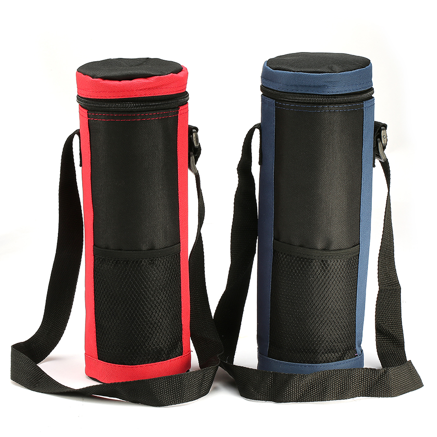 KCASA KC-BC09 Large Insulated Cooler Water Bottle Carrier Tote Bag Holder Travel Pouch Organizer