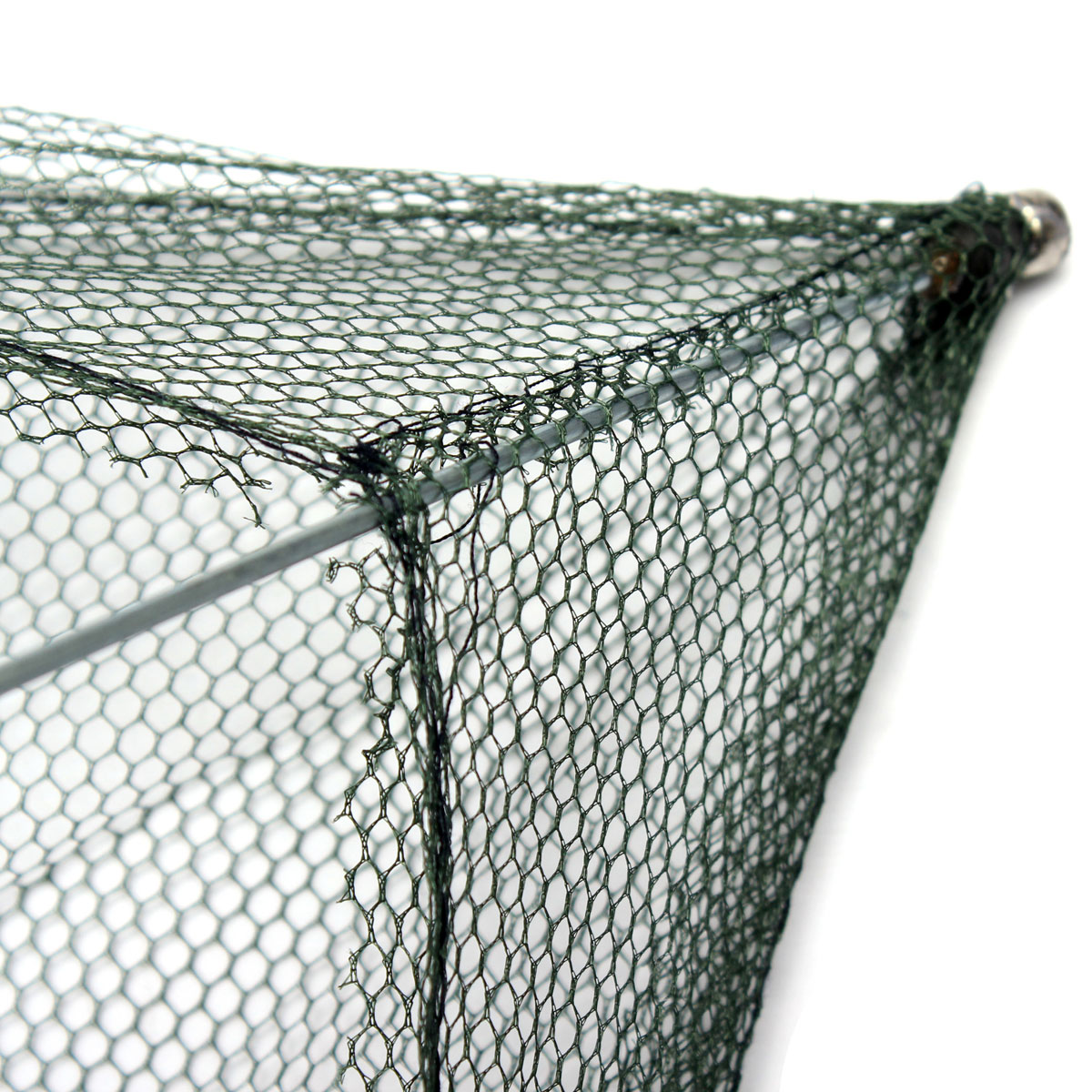 ZANLURE 80cmx80cm Foldable Crab Fish Crawdad Shrimp Minnow Fishing Bait Trap Cast Net