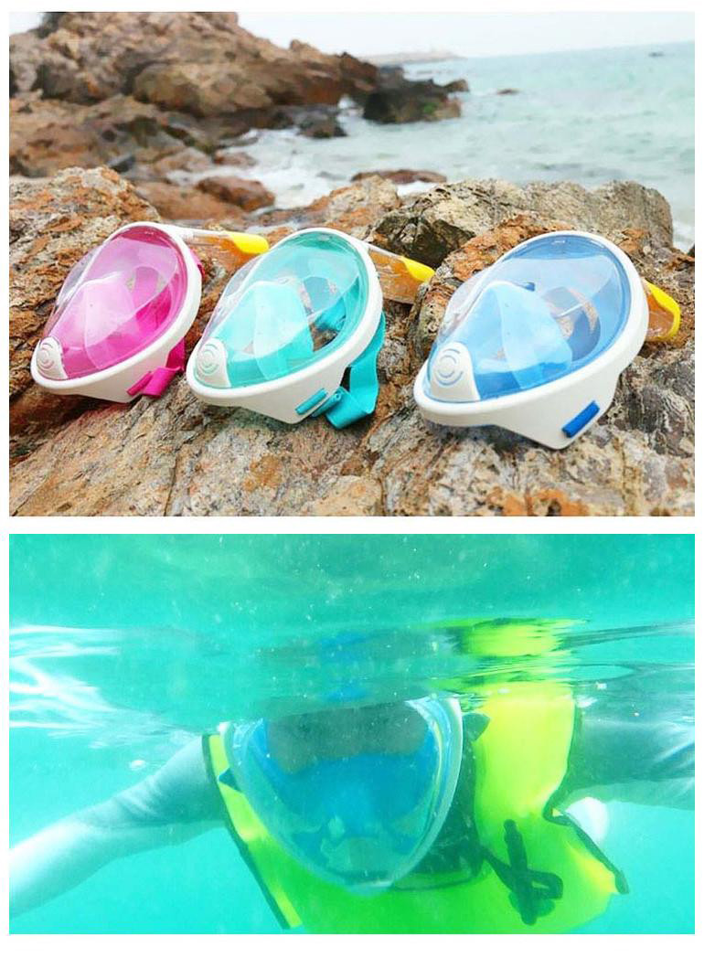 IPRee™ Silicone Full Dry Diving Mask Snorkeling Goggles Under Water Scuba Diving Equipment