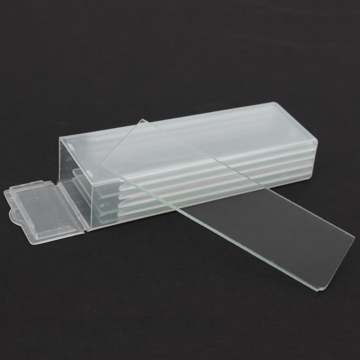 5pcs Single Concave Microscope Glass Slides Reusable La