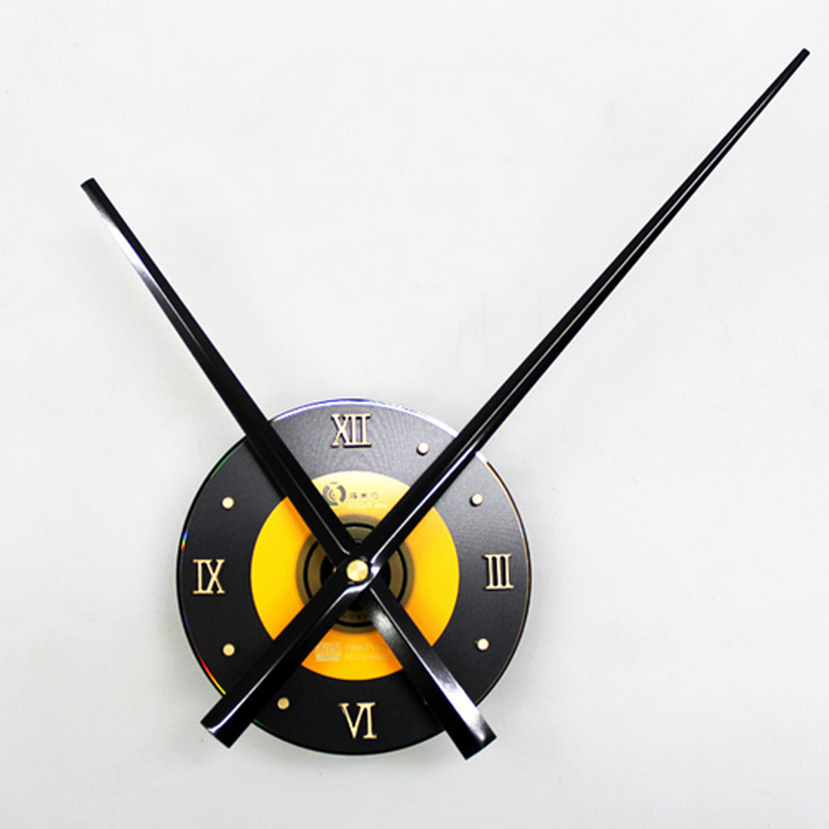 Large Pointer Mute Wall Clock + Minute/Hour Hand Kit Creative Home Decor