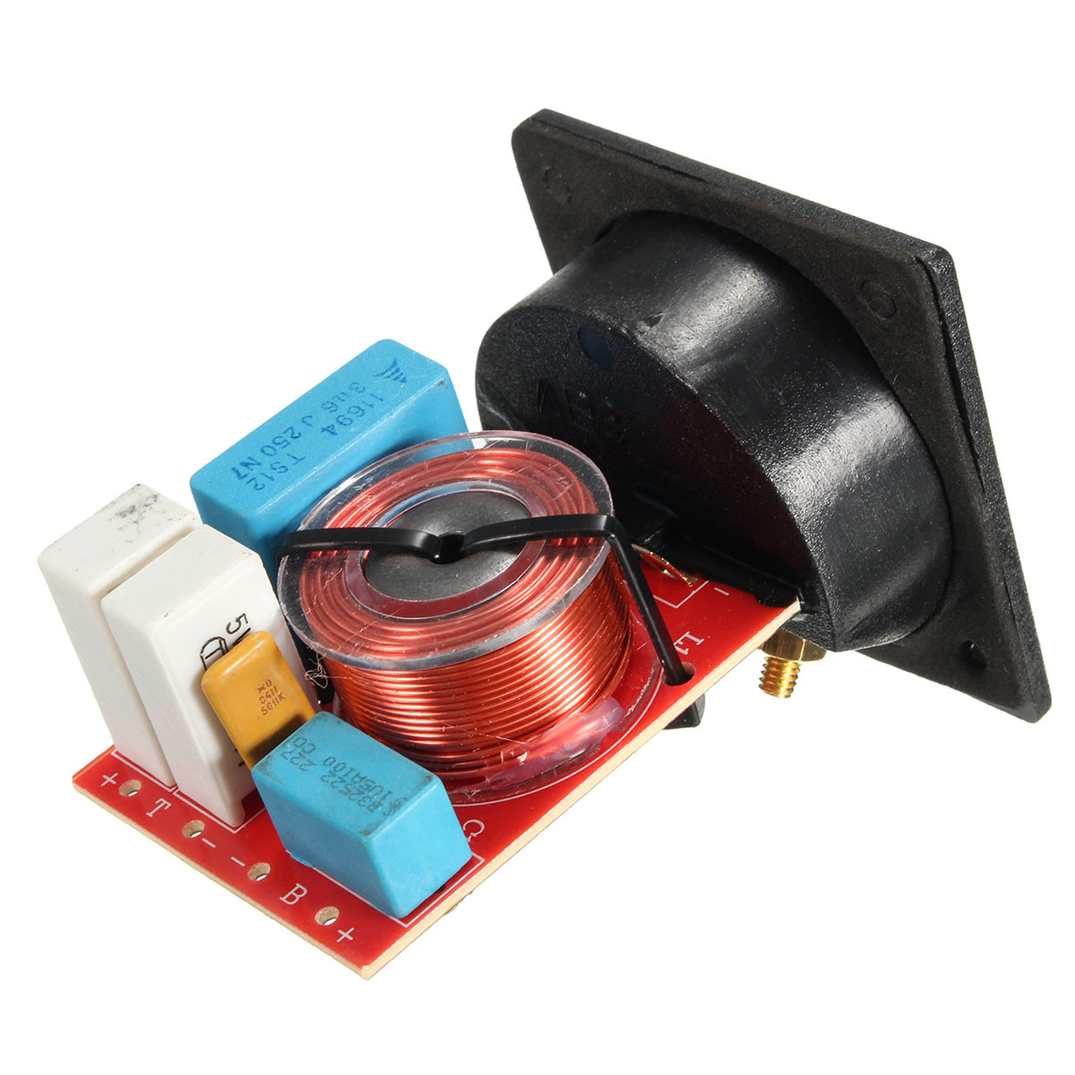 D222 80W Speaker Frequency Divider With Junction Box