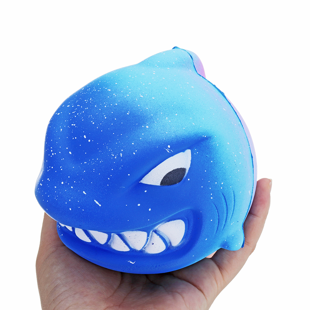 Squishy Animal Fierce Shark 11cm Slow Rising Toy Gift Collection With Packing