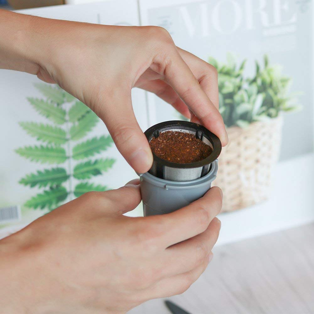 K-Cup Repeatable Coffee Filter Baskets Coffee Filter Capsule Pod K-Cup Replacement Coffee Filter