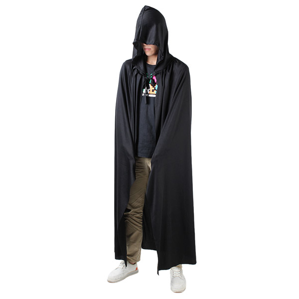 Prop Death Hoody Cloak Halloween Long Tippet Cape Halloween Costume Theater