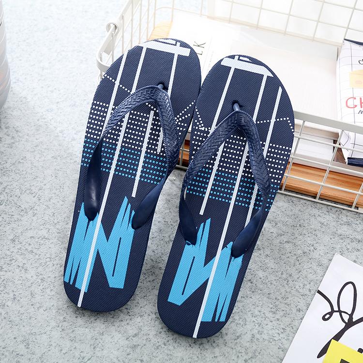 S-54228 Men's Sandals Flip-flops N pattern Comfortable Casual Non-slip Wear-resistant