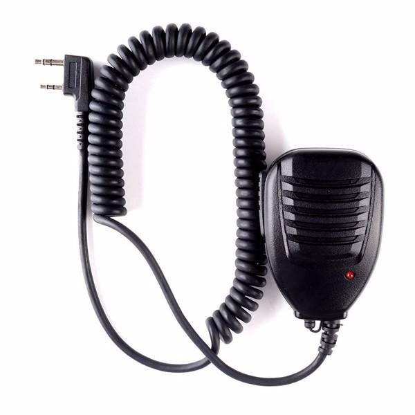 Speaker MIC for TYT PTT Tytera Walkie Talkie Speaker Microphone MD-380 TH-UV9D TH-UV6R