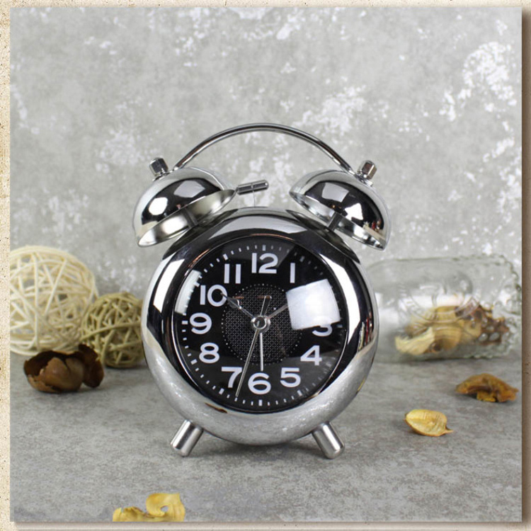 4 Inch Ultra Silent Alarm Clock creative Simple Style Modern Alarm Clock Children Bedroom Clock