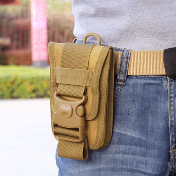 Men Tactical Molle Pouch Outdoor EDC Utility Waist Bag