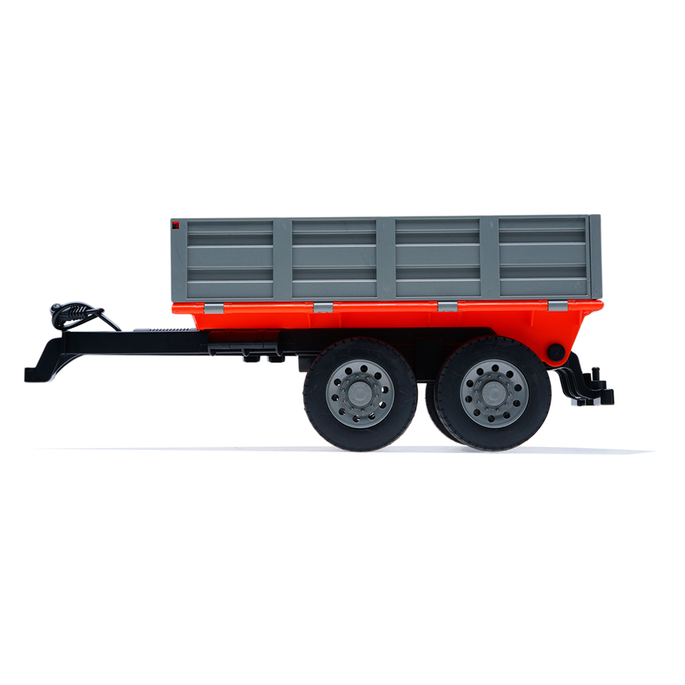 Double E Rc Car Parts Trucks 1/16 Farm Tractor Toys Dump Trailer Engineering Machine Model - Photo: 3