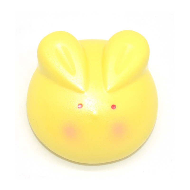 Kiibru Squishy New Marshmallow Rabbit Bunny Licensed Slow Rising Original Packaging Collection Gift Decor Toy