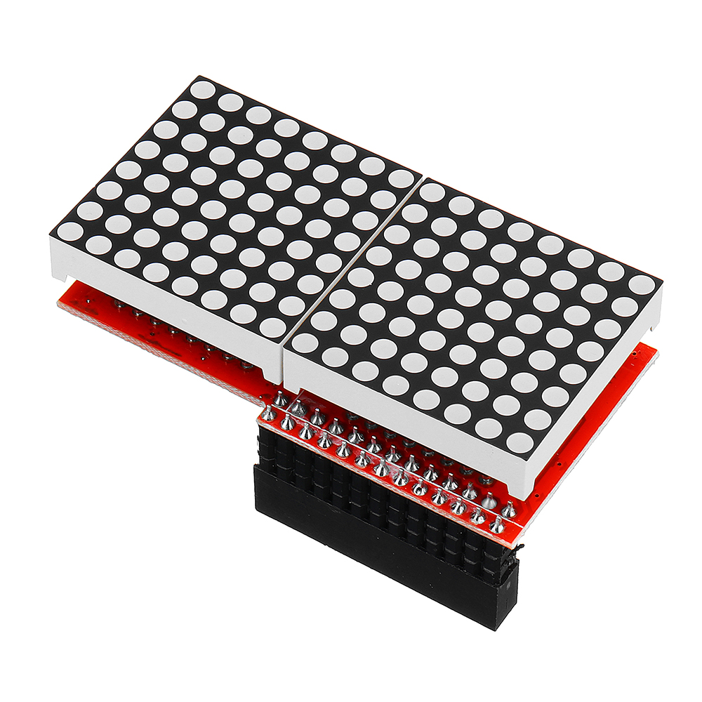 3pcs 8x16 MAX7219 LED Dot Matrix Screen Module For Arduino Raspberry Pi B/ B+