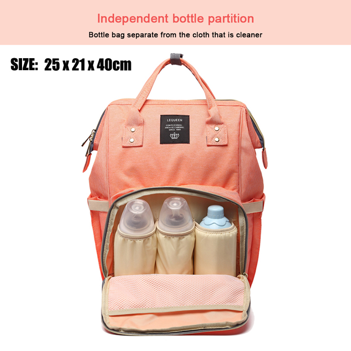 Mummy Maternity Outdoor Travel Large Capacity Multifunction Baby Care Backpack