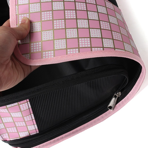 Fashionable Dog Cat Folding Travel Carry Bag Portable Cage Crate Pet Supplies Dod Bag