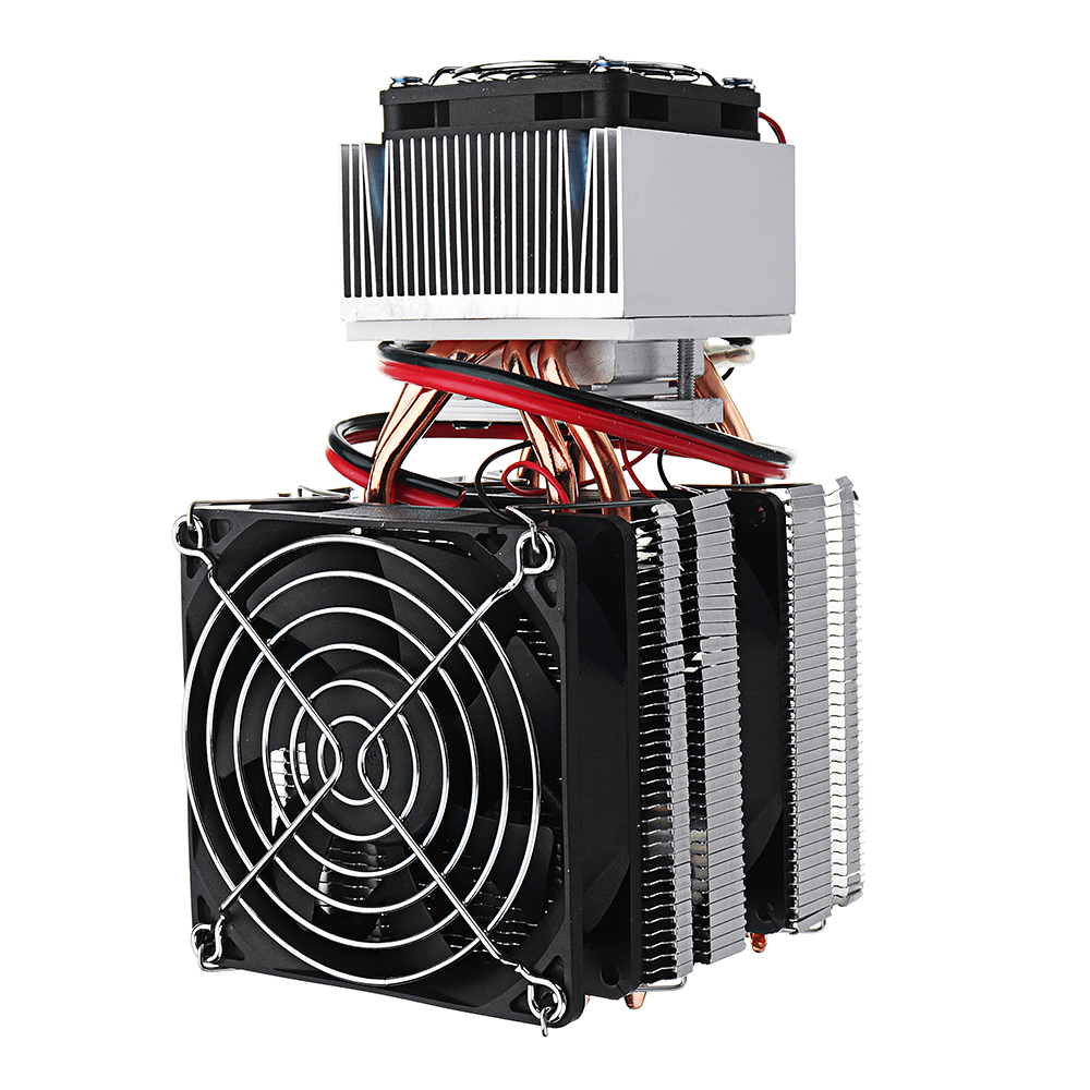 DIY XD-2088 12V Mini Electronic Single Cooling Equipment Small Refrigerator Cooling System Radiator