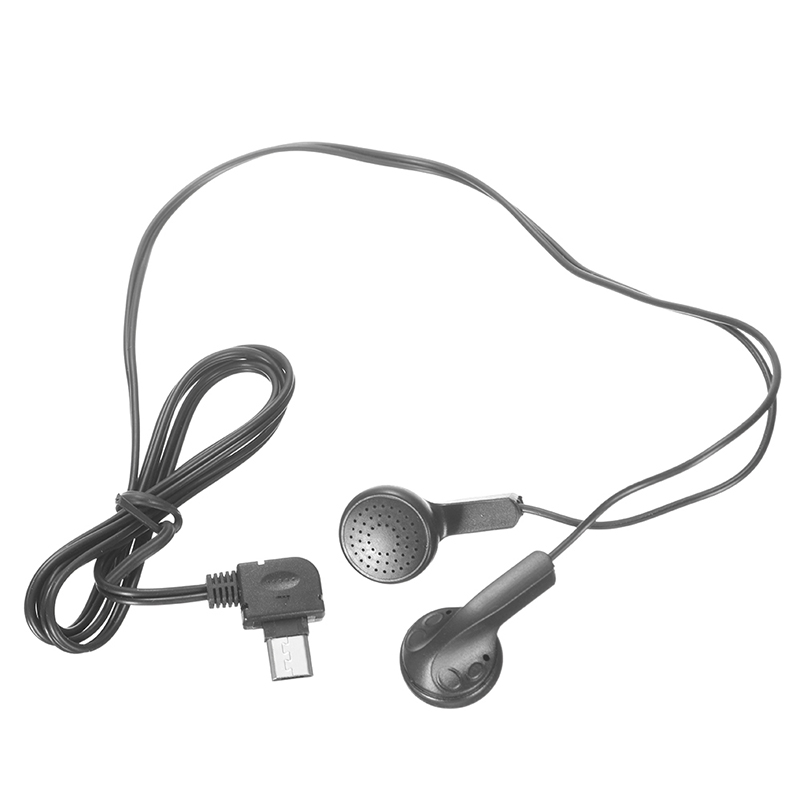 USB Interface Earphone Headphone Listen to FM Radio For Feature Phone