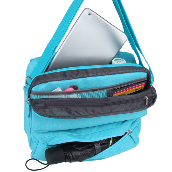 Multilayer Design Travel Ipad Bags Portable Carrying Business Case Bags Shoulder Bags