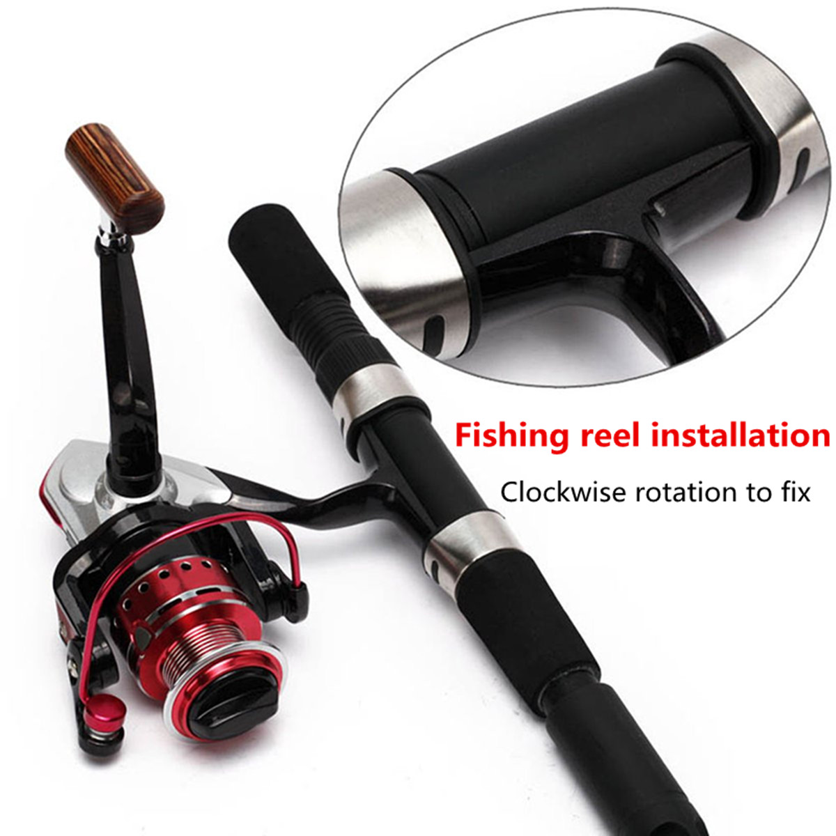 ZANLURE Portable Spooling Line Spinning Fishing Reel Line Spooler Line Winder Spool Holder Winder Line Winding System
