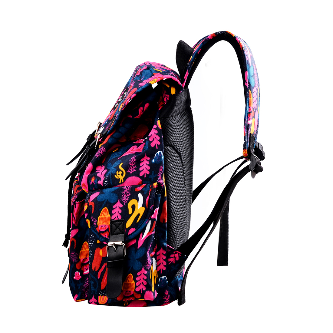 Women Printing 14 Inches Laptop Backpack