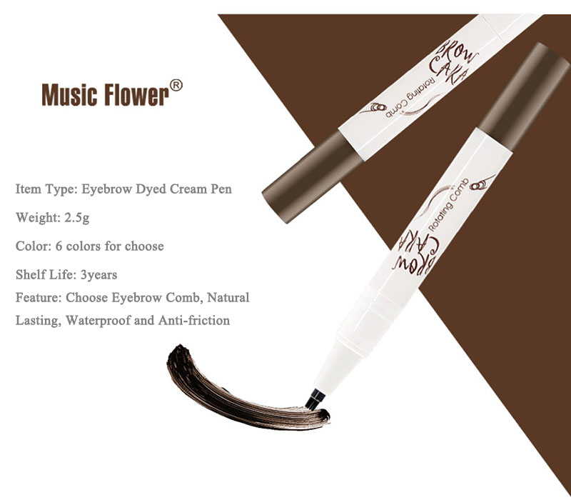 Eyebrow Tattoo Pen Brow Ink Pencil Waterproof