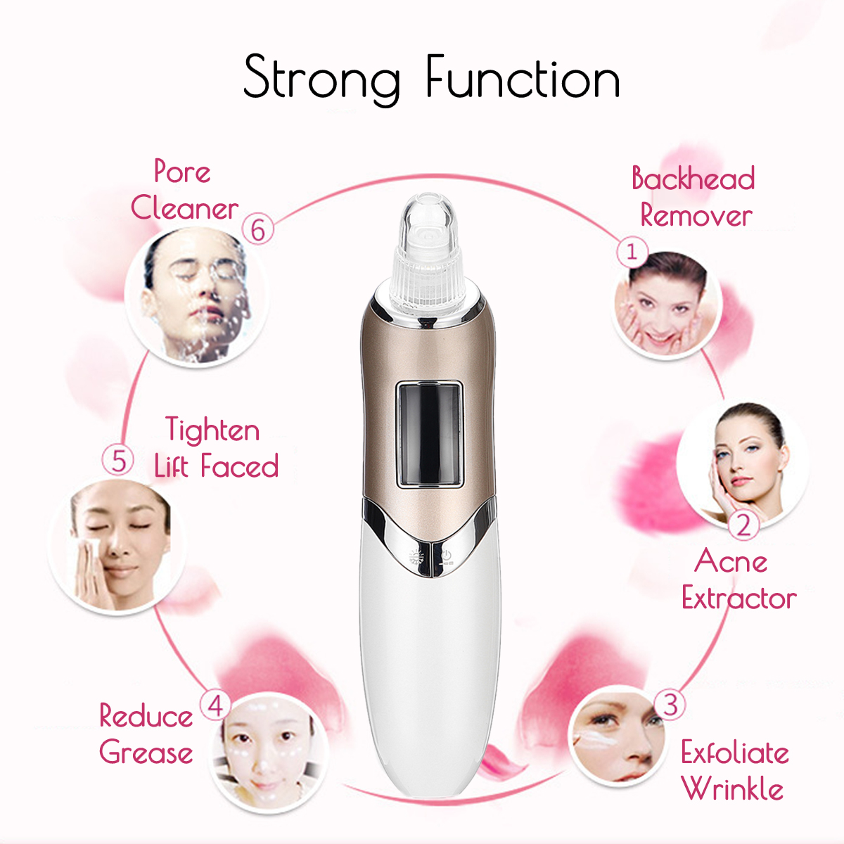 Electric Blackhead Remover Cleaner