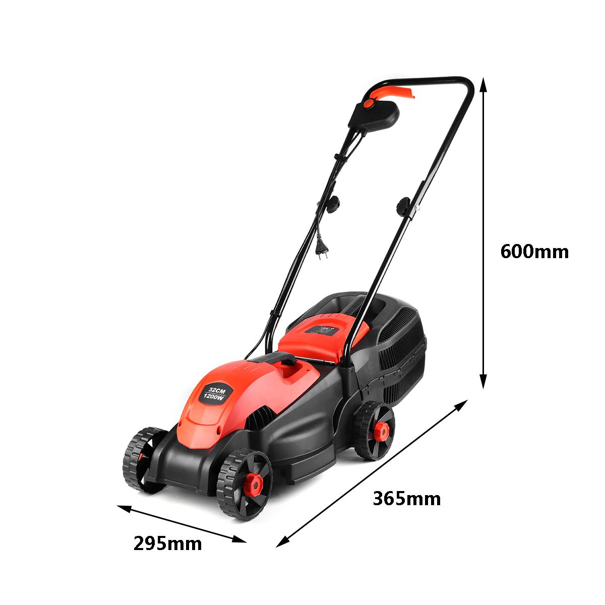 220V 1200W ZP4-320 Lawn Mower Electric lawnmower 3600r/min Grass Cutting Machine