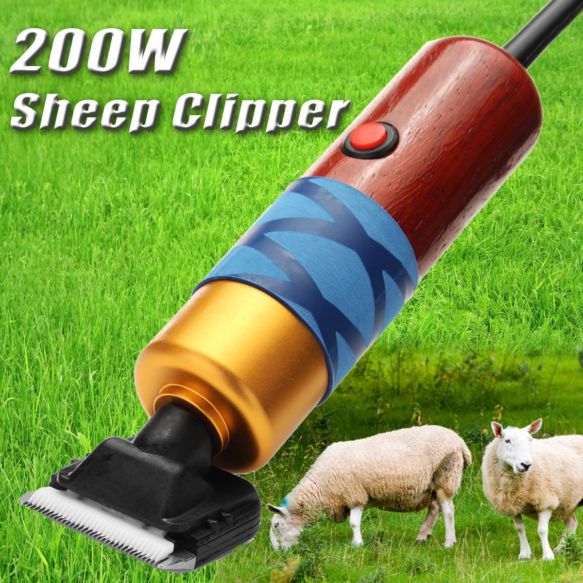 200W Sheep Clipper Professional Собака Уход Набор Для кролика Pet Собака Уход Набор