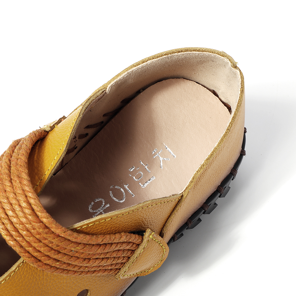 SOCOFY Hollow Out Soft Comfortable Casual Sandals