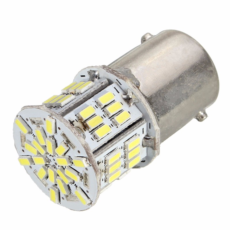 1156 BA15S 54 LED 3014 SMD Car Tail Backup Light Bulb White DC 12-24V