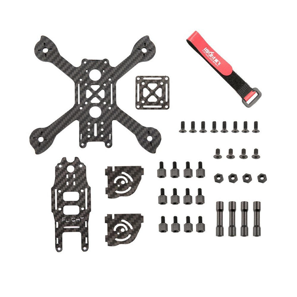 iFlight iX3 Lite 3 inch 145mm Mini FPV Racing Frame 3mm Arm Carbon Fiber For RC Drone