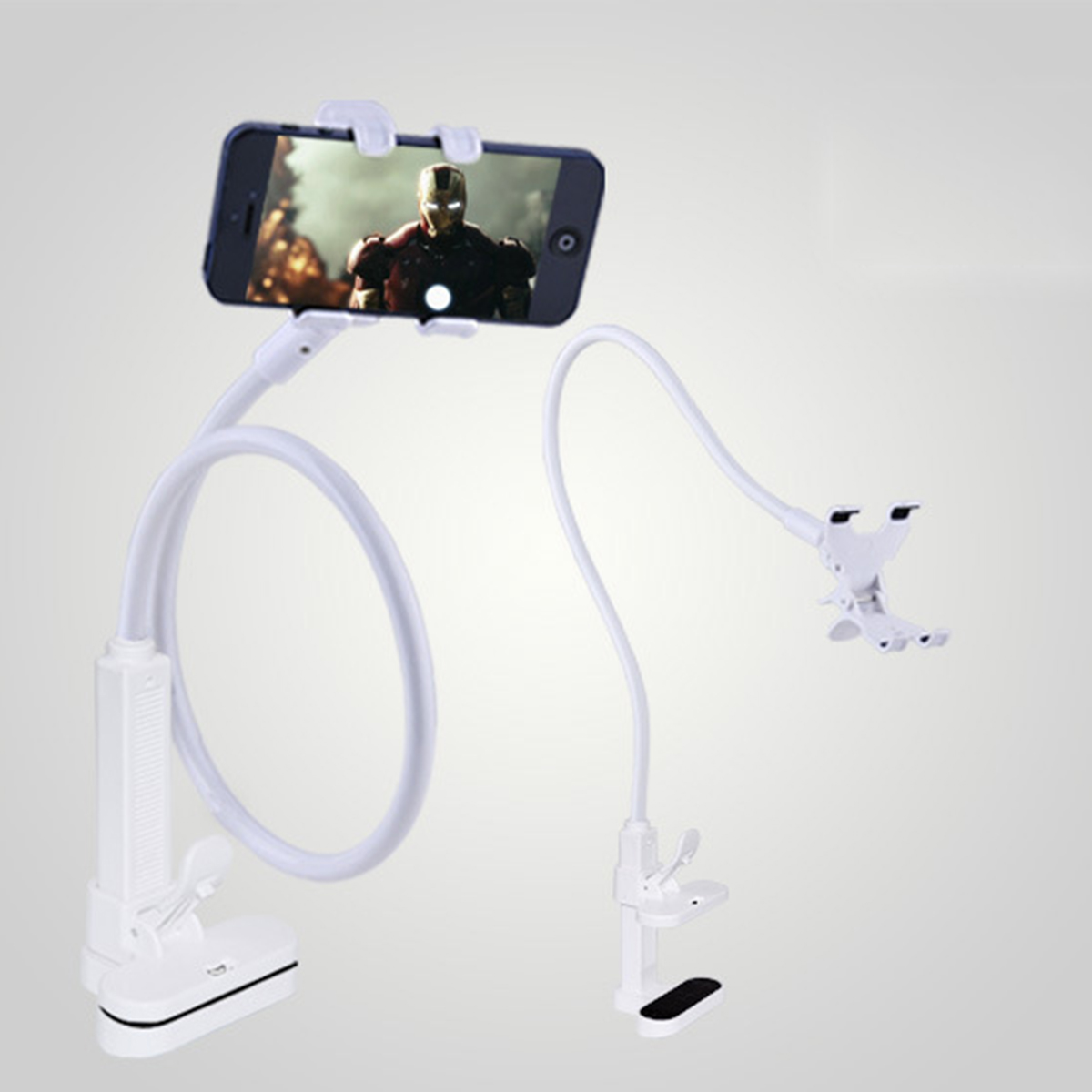 Universal Lazy Flexible Long Arms Bed Desk Mobile Phone Holder Stand Bracket for Samsung Xiaomi