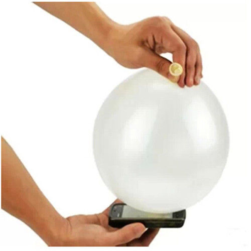 10pcs Close Up Magic Street Trick Mobile Into Balloon Penetration In A Flash Party