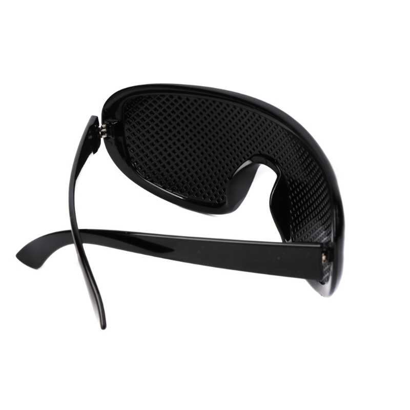 Black Vision Care Pinhole Eyeglasses Eye Exercise Eyesight