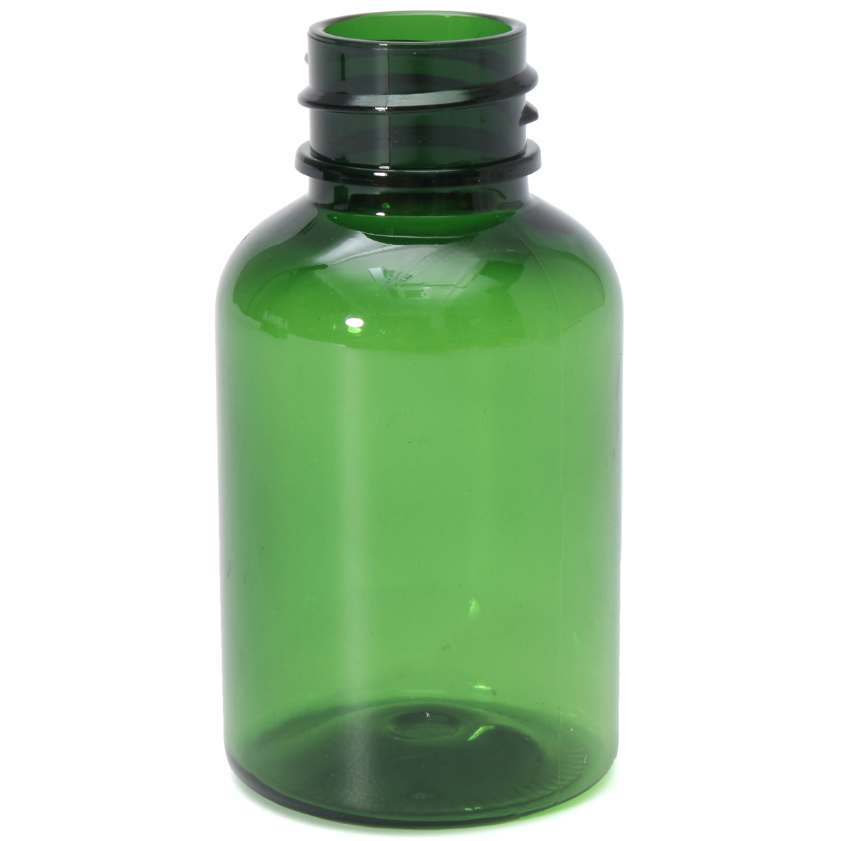 10pcs Empty Green Plastic Refillable Bottles Dropper 35ml